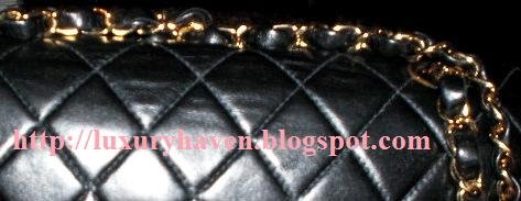 chanel double chain shoulder strap story