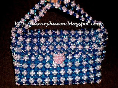 beautiful handmade beaded handbag