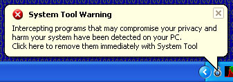 How to Remove Virus System Tool 2011: face Security Warnings
