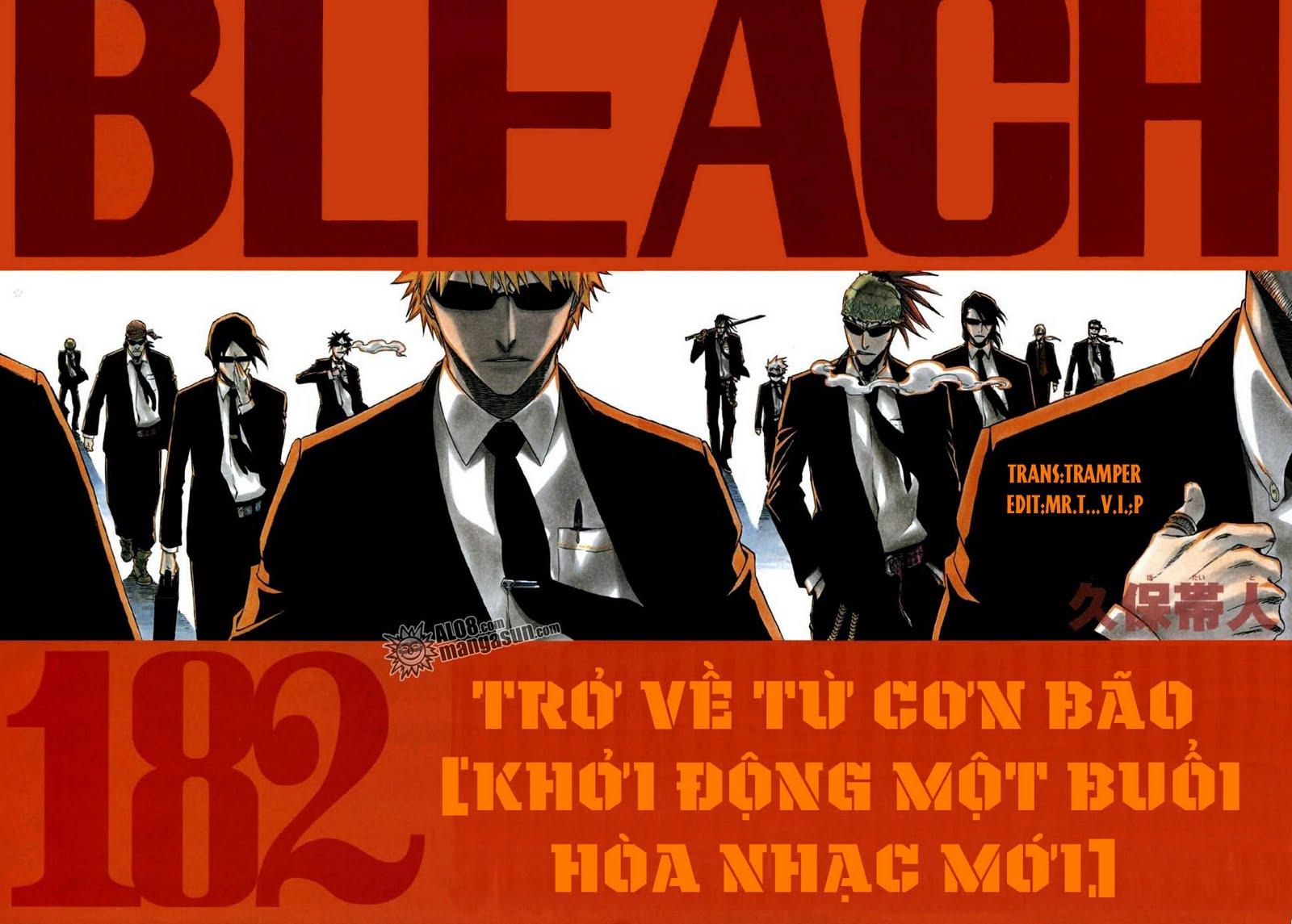 Bleach chapter 182 trang 1