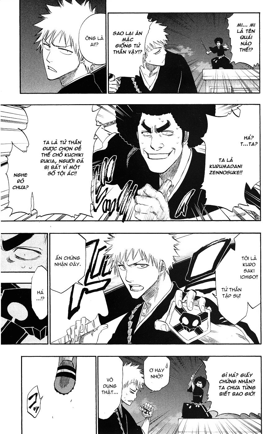 Bleach chapter 184 trang 11