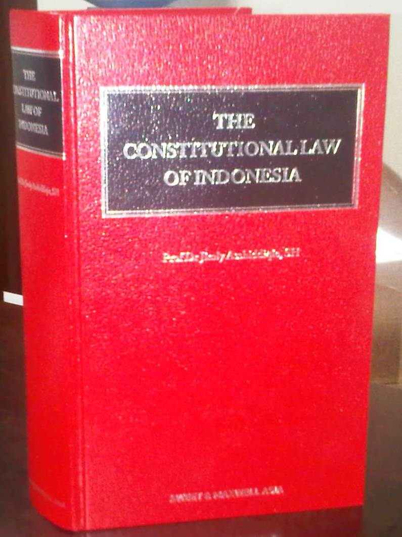 Jurnal Hukum Resensi Buku The Constitutional Law Of Indonesia