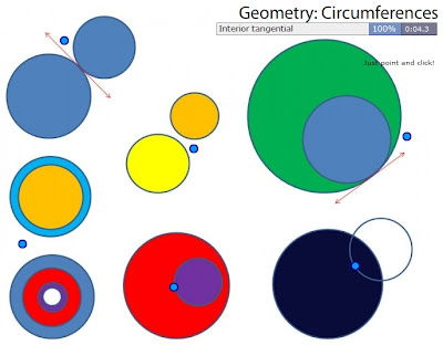 Chiew's ESL EFL CLIL Games Activities Blog: Geometry - Circle Circumference Terminology