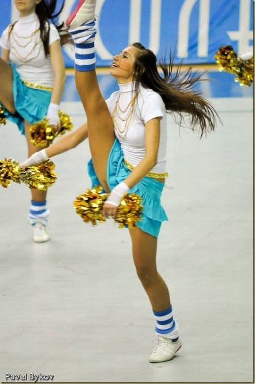vary vary young sexy cheerleader