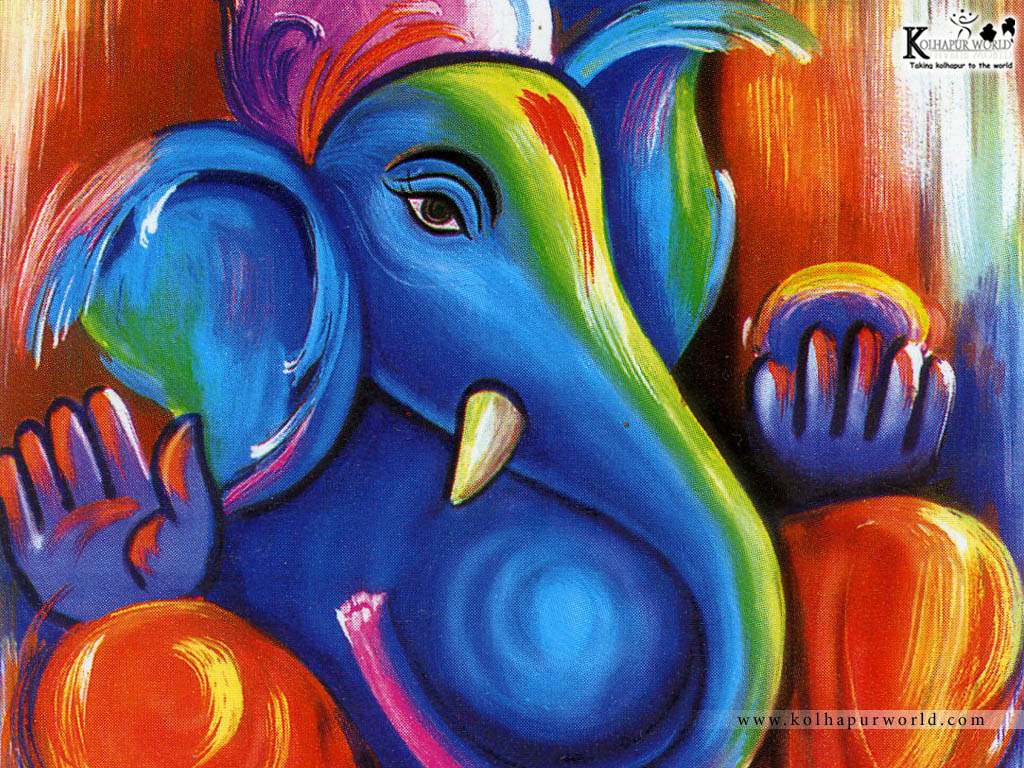 Cuadro Hi-ten Wallpaper World Lord Ganesh Chaturthi 2010 Wallpaper