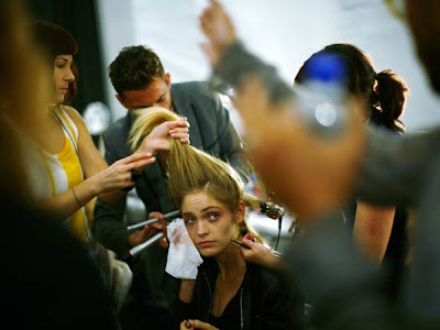 New York Fashion Week: Backstage With Models