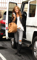 Audrina Patridge out for dance practice with Tony Dovolani