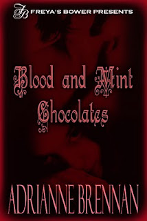 Blodd and Mint Chocolates by Adrianne Brennan