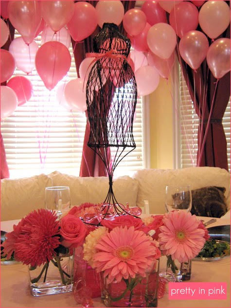 For All Things Creative Pretty In Pink Baby Shower