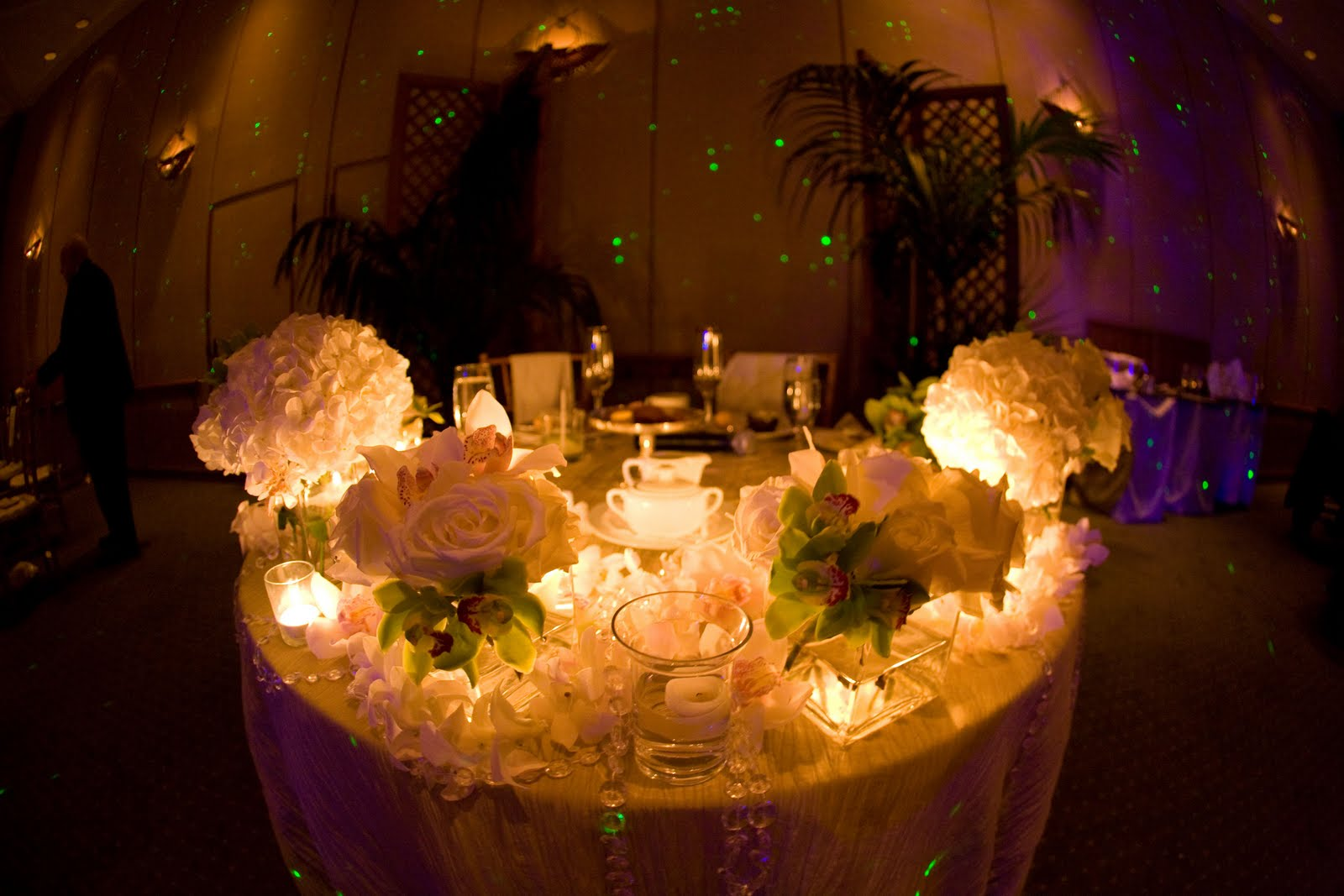 For All Things Creative!: Wedding Sweetheart Tables