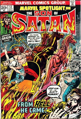 Marvel Spotlight #12, the Son of Satan, first appearance, Herb Trimpe