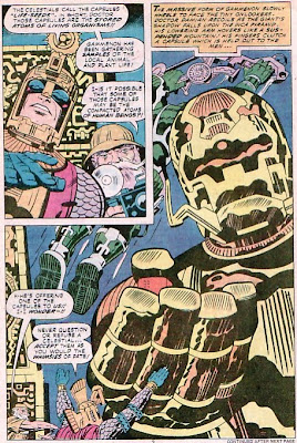 Jack Kirby, Eternals #7, the Celestials