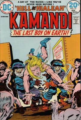 Kamandi #13, A Day at the races by Jack Kirby