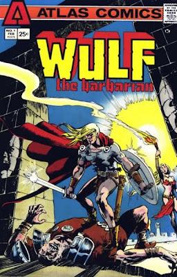 Atlas Comic Wulf the Barbarian #1