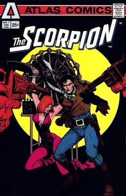 Atlas Comics, The Scorpion #1, Howard Chaykin