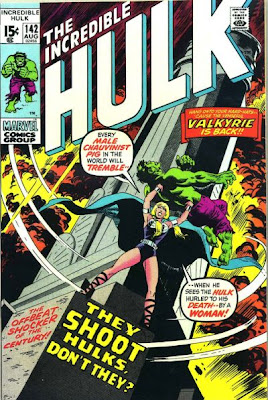 Incredible Hulk #142, Samantha Parrington, the Valkyrie, Herb Trimpe