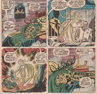 Hela, goddess of death, gets philosophical