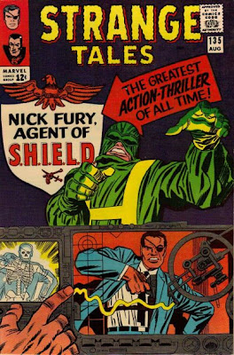 Strange Tales #135. Nick Fury, Agent of SHIELD's first appearance