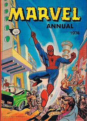 Fleetway Marvel Annual 1974