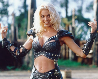 Hudson Leick as Callisto in Xena Warrior Princess