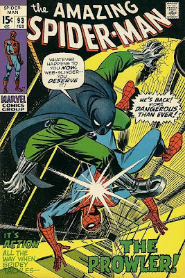 Amazing Spider-Man #93 Prowler