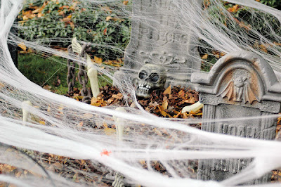 Our Halloween Cemetery - October 30, 2010