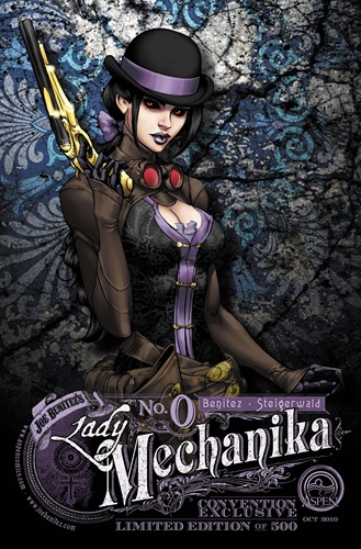 Wednesday Comics on Thursday - Lady Mechanika - December 9, 2010