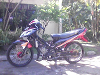 Jupiter Mx Airbrush Modif Drag Racing Drag Race Unik oto mamia x