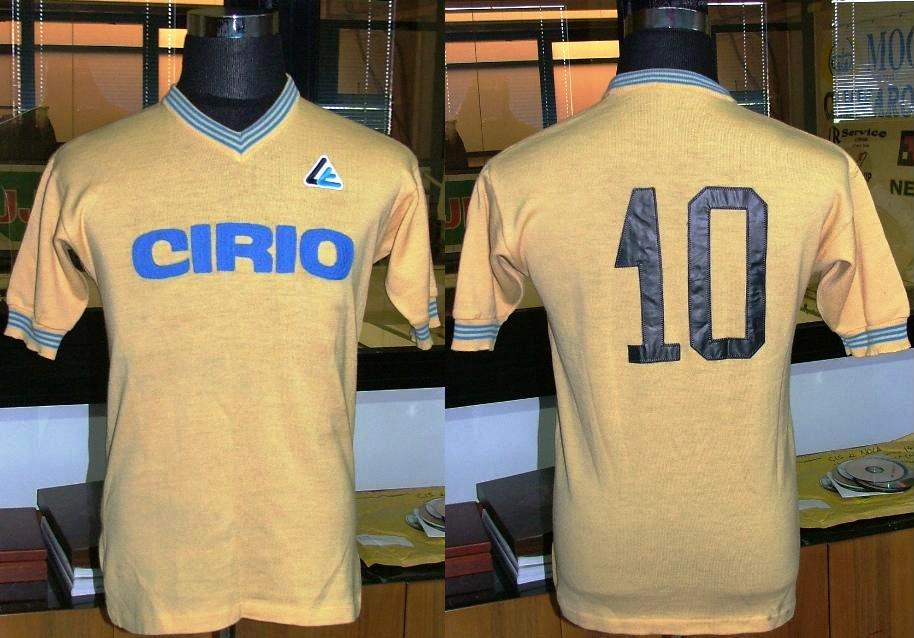 Generico Maglia Maradona Napoli 1984//85 Vintage Retro Allenamento
