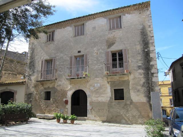 casa natal del cronista Ramón Muntaner en Peralada