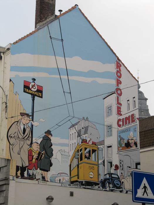 Mural Chaland - Le Jeune Albert