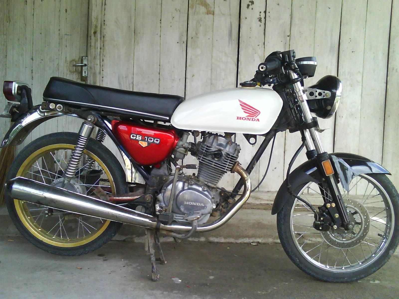 Gambar Modifikasi Honda Cb 100 Custom Car Motor Sporthtml