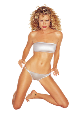 Rebecca Romijn as the icon of HotBabe