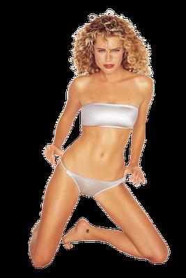 Rebecca Romijn as the icon of HotBabe