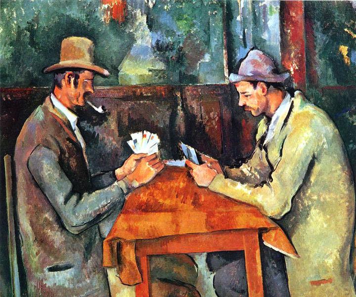 Paul Cezanne Card Players