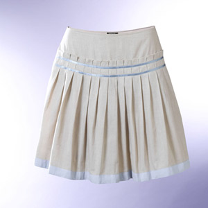 diseño innovador b06b9 cc5b1 Falda de prenses seguidos o plisada.