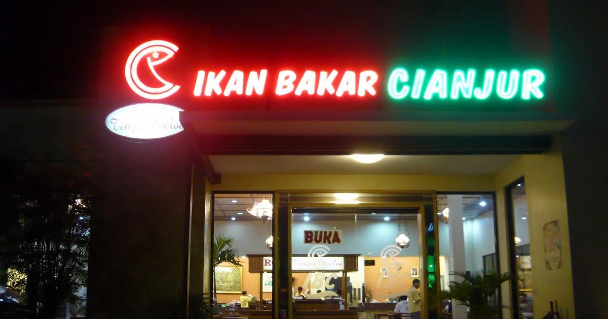 Tummy Thoughts: Rumah Makan Ikan Bakar Cianjur, Jakarta Indonesia