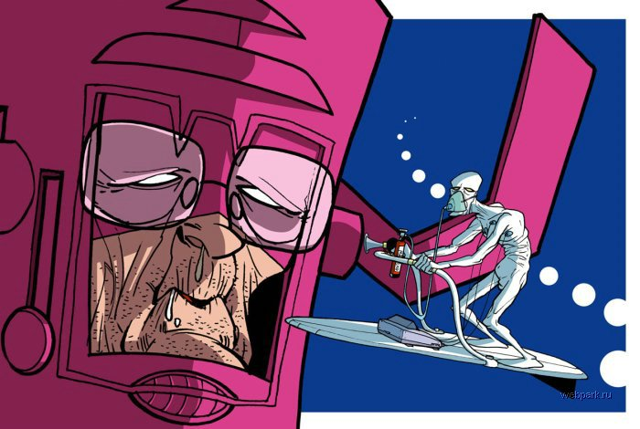 Galactus Cartoon