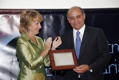 Esperanza Aguirre, presidenta de la CEOE