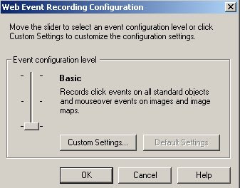 How To Capture Events in QTP?