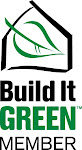We are now a proud member of Build it Green