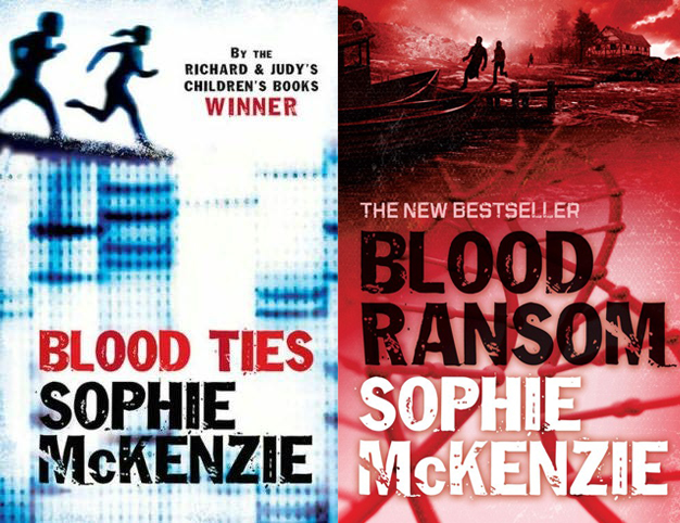 Book Cover Series Zone : The book zone review blood ties ransom by sophie
