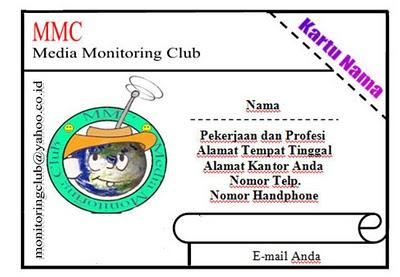 Lomba Merancang Logo dan Kartu Anggota Media Monitoring Club 23