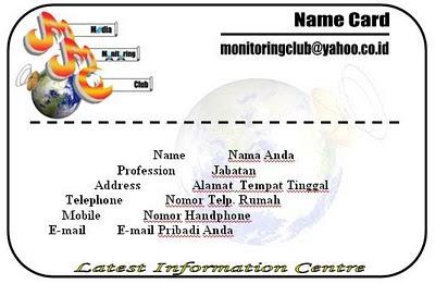 Lomba Merancang Logo dan Kartu Anggota Media Monitoring Club 22