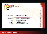 Lomba Merancang Logo dan Kartu Anggota Media Monitoring Club 20