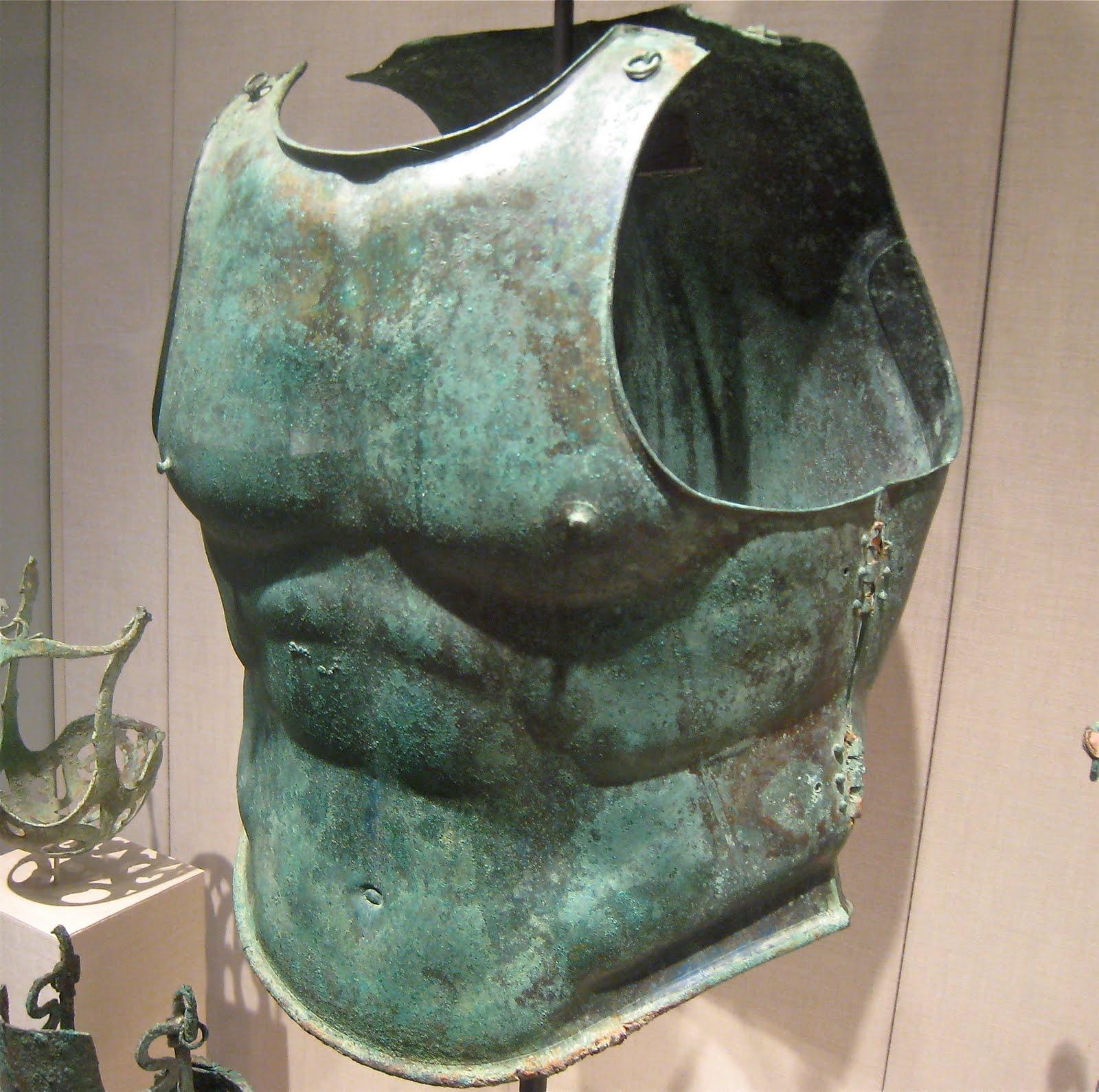 GreatWorks: Metropolitan Museum - Greek Armor