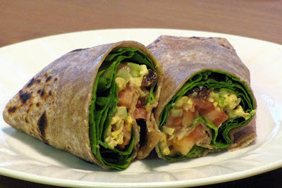 Little House Of Veggies Curry Tempeh Wraps With Spinach