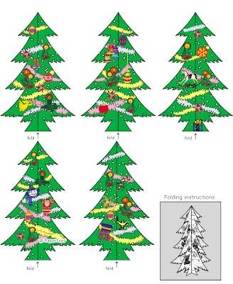 Print Desenhos árvore De Natal Para Imprimir E Montar