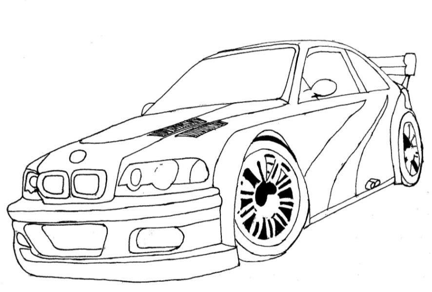 Print Desenhos Desenho De Carro Esporte Para Imprimir Desenho Da