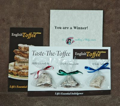 from Lori, an English toffee sampler by English Toffee Anytime
